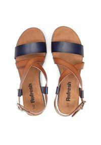 Niebieskie sandały Refresh