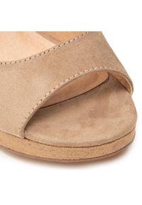 Brązowe sandały s.Oliver