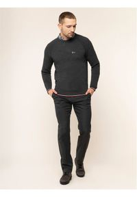 TOMMY HILFIGER - Tommy Hilfiger Tailored Spodnie materiałowe MERCEDES-BENZ Denton TT0TT05781 Szary Fitted Fit. Kolor: szary. Materiał: materiał