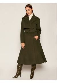 Zielony płaszcz przejściowy Sportmax Code #5