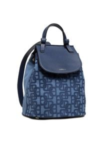 Marella - Plecak MARELLA - Felce 65110614 Navy. Kolor: niebieski. Materiał: materiał, skóra. Styl: klasyczny, elegancki