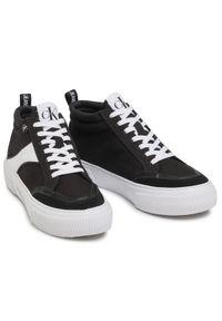 Calvin Klein Jeans Sneakersy Vulcanized Skate Midlaceup Mix YW0YW00056 Czarny. Kolor: czarny. Sport: skateboard