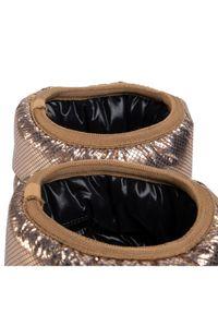 Złote śniegowce Moon Boot #6