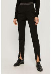 Czarne spodnie materiałowe Karl Lagerfeld klasyczne