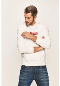 Levi's® - Levi's - Bluza. Okazja: na spotkanie biznesowe, na co dzień. Kolor: biały. Styl: casual, biznesowy
