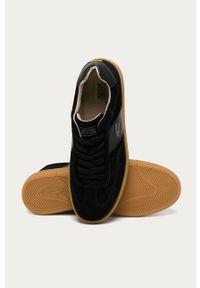 Czarne sneakersy Camel Active na sznurówki, z okrągłym noskiem
