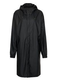 Rains Kurtka przeciwdeszczowa Unisex 1836 Czarny Regular Fit. Kolor: czarny