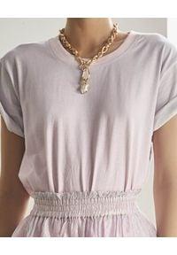 ROCOCO SAND - T-shirt z krótkim rękawem. Kolor: fioletowy, różowy, wielokolorowy. Materiał: bawełna. Długość rękawa: krótki rękaw. Długość: krótkie. Sezon: lato. Styl: klasyczny