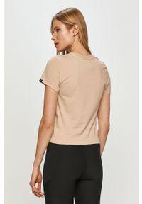 Piżama Calvin Klein Underwear gładkie, krótka