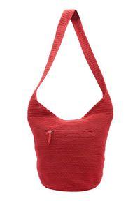 Czerwona torebka Ceannis na ramię