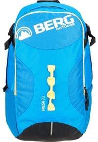 BERG OUTDOOR - Berg Outdoor Plecak szkolny, sportowy, miejski FRESH 30L Berg Outdoor Kolor niebieski. Kolor: niebieski. Styl: sportowy