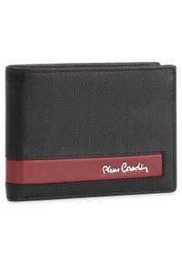 Pierre Cardin - Duży Portfel Męski PIERRE CARDIN - CB TILAK26 8806 Black/Red. Kolor: czarny. Materiał: skóra