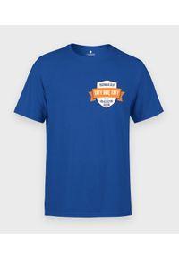 MegaKoszulki - Koszulka męska Odznaka dla taty (+ IMIĘ). Materiał: bawełna