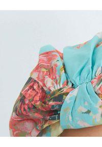 HEMANT & NANDITA - Wzorzysta opaska. Kolor: niebieski. Materiał: bawełna
