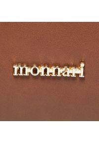 Brązowa torebka klasyczna Monnari z aplikacjami, zdobiona