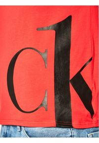 Czerwony podkoszulek Calvin Klein Underwear
