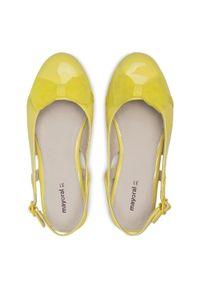 Żółte sandały Mayoral