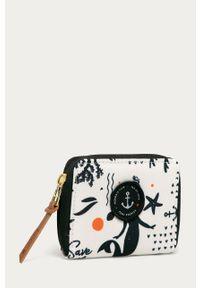 Kremowy portfel Femi Stories
