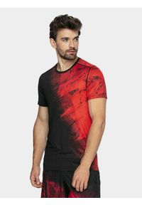 Koszulka sportowa 4f na fitness i siłownię, raglanowy rękaw