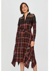 Wielokolorowa sukienka Desigual z nadrukiem, casualowa, na co dzień