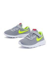 Szare sneakersy Nike z cholewką, Nike Tanjun