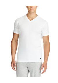 Ralph Lauren - RALPH LAUREN - T-Shirt 2-Pack. Typ kołnierza: polo. Kolor: biały. Materiał: prążkowany, bawełna. Wzór: haft. Styl: klasyczny