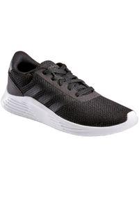 Czarne buty sportowe Adidas Adidas Racer, trekkingowe