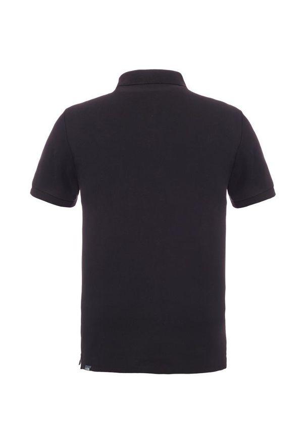 Czarna koszulka sportowa The North Face polo