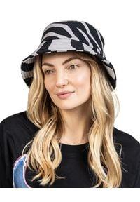 ROBERT KUPISZ - Szary kapelusz NOW. Kolor: szary. Materiał: bawełna #5
