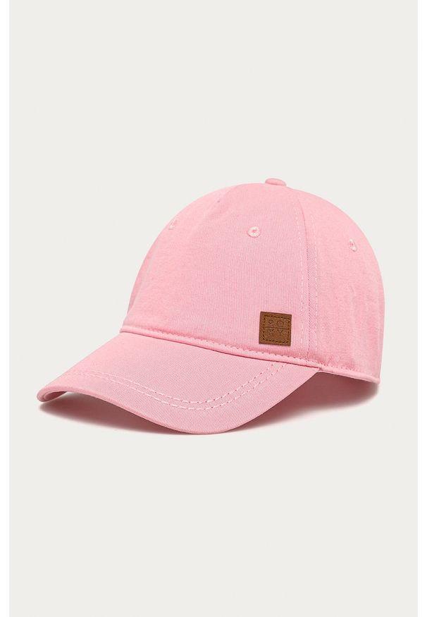 Różowa czapka z daszkiem Roxy
