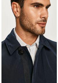 Niebieski płaszcz Tommy Hilfiger Tailored bez kaptura, na co dzień, casualowy