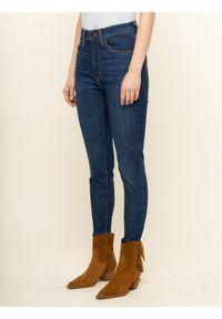 Levi's® Jeansy Mile High 22791-0116 Granatowy Super Skinny Fit. Kolor: niebieski. Materiał: jeans