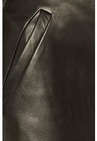 Czarne spodnie materiałowe AllSaints z podwyższonym stanem
