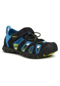 Czarne sandały Sprandi klasyczne, na lato