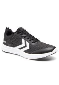 Czarne sneakersy Hummel z cholewką
