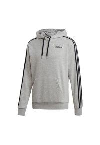 Bluza z kapturem Adidas w paski, sportowa