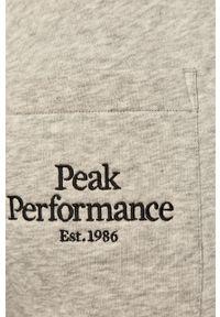 Szare spodnie dresowe Peak Performance #4