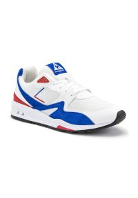 Sneakersy Le Coq Sportif w kolorowe wzory, z cholewką