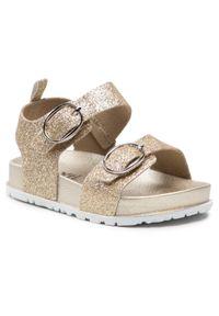 Złote sandały Xti