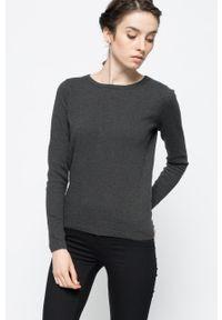 Szary sweter Vero Moda gładki