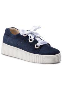 Niebieskie buty sportowe Piazza