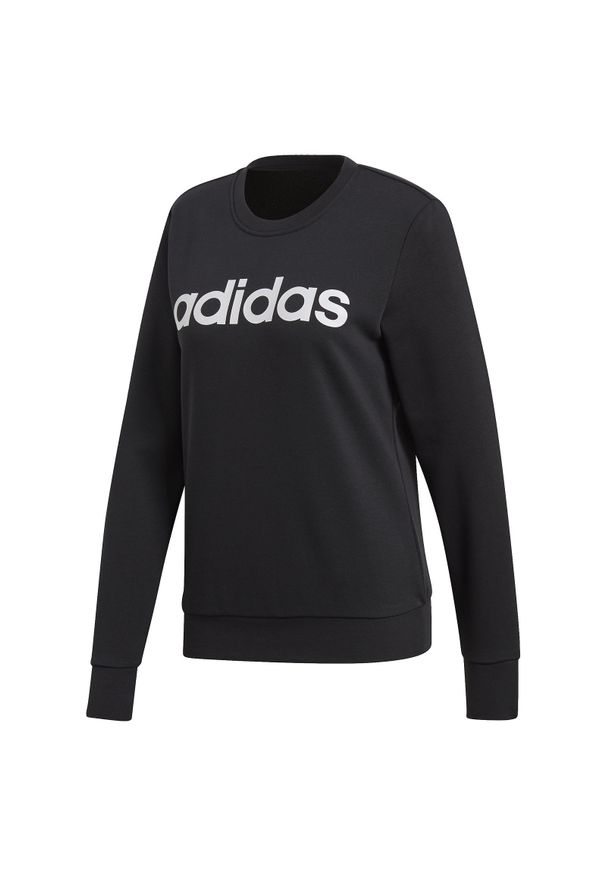 Adidas - Bluza damska adidas Essentials Linear Sweat DP2363. Materiał: poliester, bawełna, materiał. Sport: turystyka piesza