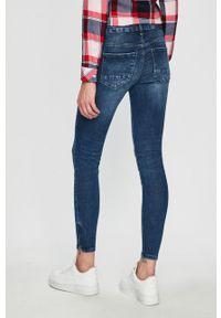 Niebieskie jeansy Noisy may #4