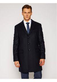 Niebieski płaszcz przejściowy TOMMY HILFIGER
