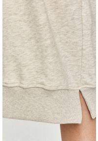 Szara sukienka Answear Lab melanż, mini