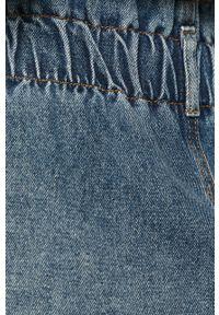 Niebieska spódnica only casualowa, na co dzień