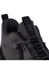 Szare buty trekkingowe On z cholewką