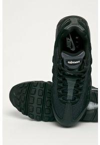 Czarne buty sportowe Nike Sportswear Nike Air Max, na średnim obcasie