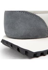 Blauer - Sneakersy BLAUER - S1DAWSON01/NYS Light Grey. Okazja: na co dzień. Kolor: szary. Materiał: skóra, zamsz, materiał. Szerokość cholewki: normalna