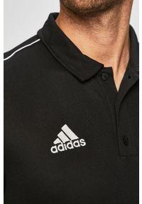 Czarna koszulka polo adidas Performance polo, krótka